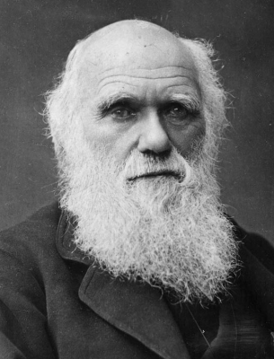 Charles Darwin bio pic