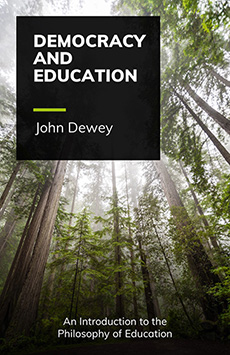 Book cover for Democracy and Education